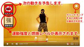 痩せすぎ注意ダンス ヒルナンデス 痩せる動画