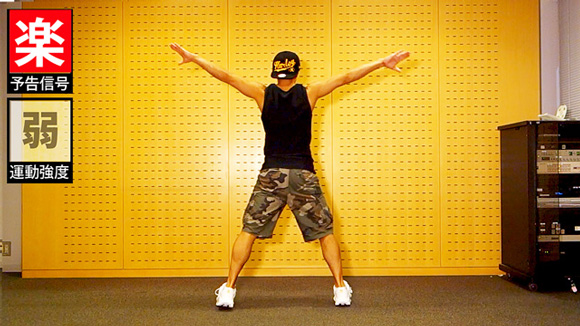 ダンサーYU-SUKE 痩せるダイエット動画 消費カロリー 9