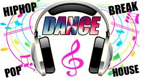 ダンスで踊れる音楽と曲